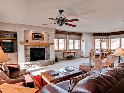 Photo for Spacious Slopeside Condo Loaded with Amenities!
