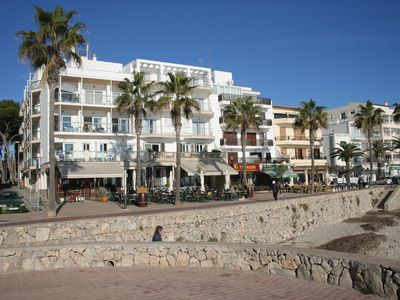 Photo for APP. ARCADIA 3-B: direct beach location, frontal sea view, 2 bedrooms (type B)