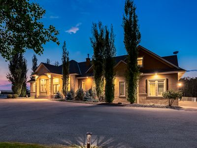 Photo for Luxurious Gated Estate with over 7200 living area minutes from Okotoks & Calgary