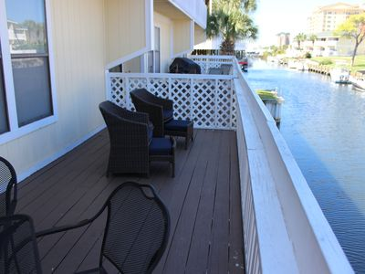 Photo for Free Golf and Activities! On Canal - Harbor Views, Pet Friendly, Sandpiper 4103