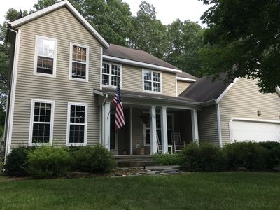 Photo for Quiet Setting Close to downtown, Track and SPAC