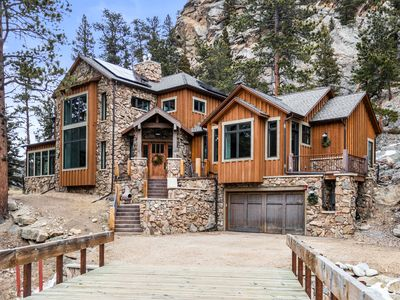 Photo for RIVERHAUS: A Luxury Riverfront Home close to Rocky Mountain National Park