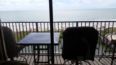 Photo for In Myrtle Beach Resort Direct Oceanfront 506B. Sweeping Ocean Views From Balcon