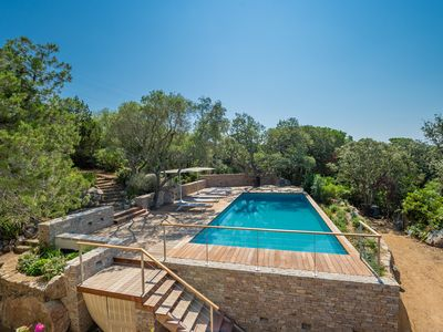 Photo for Property of the Domaine de Cala Rossa, 5 bedrooms, landscaped garden