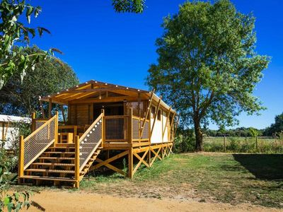 Photo for Camping Domaine de l'Etang **** - Premium Chalet 3 rooms 5 persons