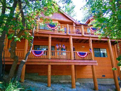 Photo for Storybook Manor-Seclusion,Views,Hot-Tub,Pool Table,Wi-Fi Mins to Village & Slope