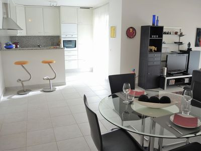 Photo for Well maintained apartment on the sunny side of Locarno wit, patio and pergola