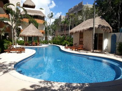 Photo for New Luxury Penthouse Apartment 2 Bedroom 2 Bath minutes from the Tulum Beaches