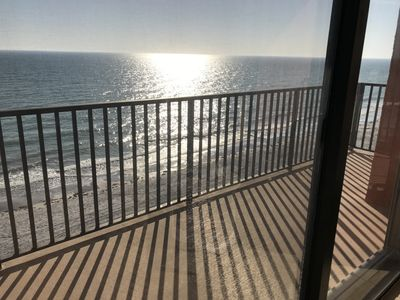 Photo for Gulf Front Fully Renovated 2BR, 2BR Beach Condo