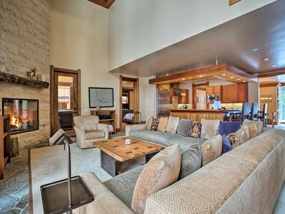 Photo for NEW! Mammoth Lakes Home w/ Theater, Hot Tub, Deck!