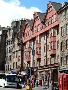 External- all windows overlook the Royal Mile