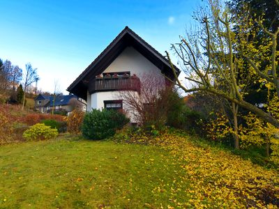 Photo for Very cosy holiday home in Olsberg with wood stove, garden, balcony and carport