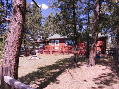 Photo for Cheery cabin close to adventures - Homestead Haven!
