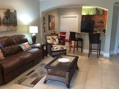 Photo for Resort Golf Living at It's Best/4miles to the Beach/Renovated 2 Bedroom Condo