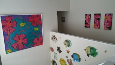 Stairs and Hallway Art from Australia and the South Pacific