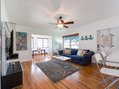 Photo for 2/1, 3 beds, Spotless & Spacious house in Coconut Grove.