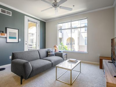 Photo for Airy San Mateo 1BR w/ Pool, Gym, Parking, BBQ, by Blueground