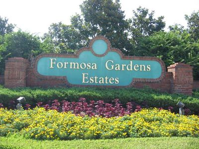 Photo for Formosa Gardens Gated Resort   Lake View    Master with direct pool access