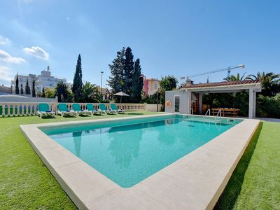 Photo for Amazing Villa Maravilas 2 with private pool, terrace & TENNIS COURT