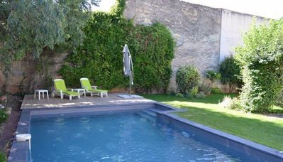 Photo for Maison des Vins holiday house with swimming pool