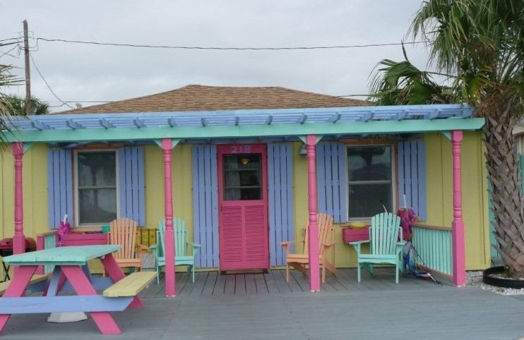Adorable Tiki Cottage At Kure Beach