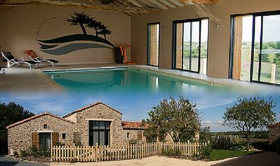 Photo for Gite 6km from puy du fou with private pool and disabled accessible jacuzzi
