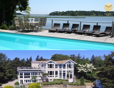 Photo for Executive Waterfront Luxury Home  6000 Sqft; Heated Pool; Sleeps 16