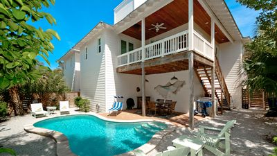 Photo for Seashell - Less than 1 minute to the beach - PRIVATE POOL and PET friendly!