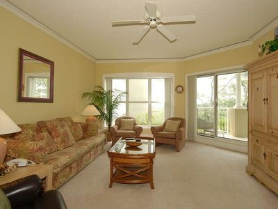 Photo for 1 bedroom, 2 bath villa in the Hampton Place complex of Palmetto Dunes with ocean views!
