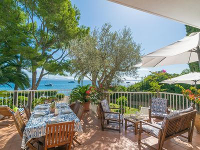 Photo for BELL-PUNT - Chalet with sea views in Alcanada (Alcúdia).