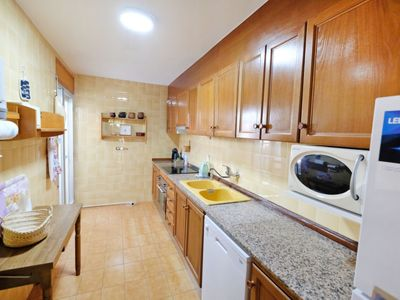 Photo for 3 bedroom Apartment, sleeps 5 in L'Ampolla with Air Con and WiFi