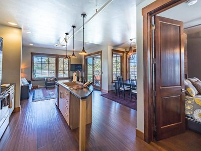 Photo for Luxury 2BR unit in Downtown Whitefish—Stunning Big Mountain Views! Sleeps 6!