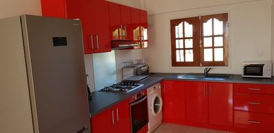 Photo for Large secure F2 with sea view in helleux ste anne