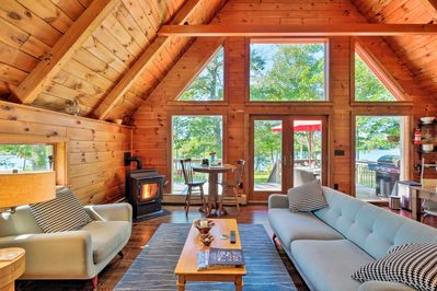 Experience a one-of-a-kind retreat at this beautiful Maine vacation rental!