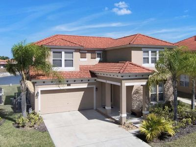 Photo for Gated Resort 4 Bedroom Pool Home. Near Disney and Shopping. Clubhouse Amenities