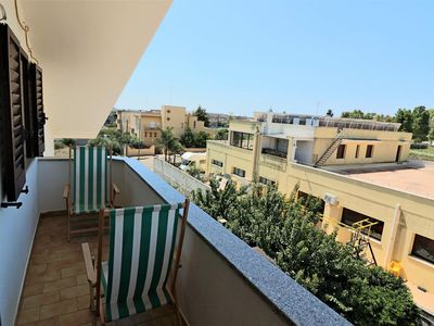 Photo for Otello apartment in Lecce with WiFi, integrated air conditioning, private roof terrace & balcony.