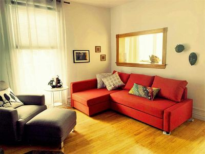 Photo for 1BR Condo Vacation Rental in Le Plateau-Mont-Royal, QC