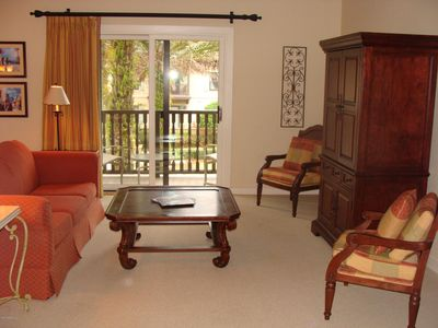 Photo for Luxury Condo with Spa, Amenities and Golf CourseBeautiful fully furnished space.
