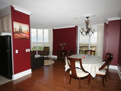 Photo for Toronto Airport Penthouse, Luxurious and Warm. Bright and spacious 1800 sq.ft.