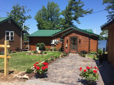 Photo for A beautiful lakefront cabin to make memories