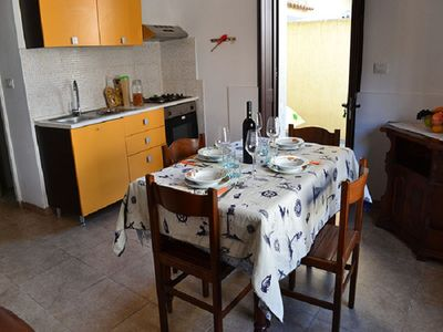 Photo for Charming Apartment on the Seaside with Small Courtyard; Pets Allowed