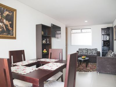 Photo for Room in modern apt, central, in Laureles, Medellín. Only one person