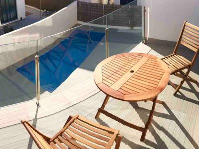 Photo for Apartment with private sun terrace.