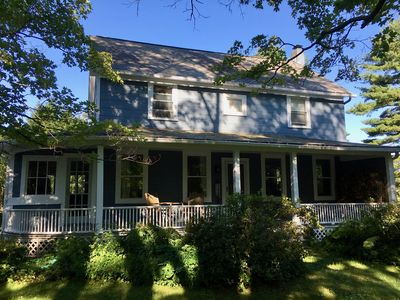 Photo for Beautiful, renovated antique farmhouse great for the whole family