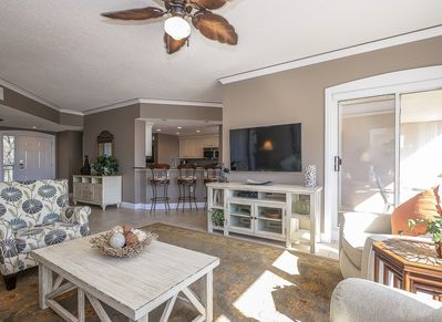Living Room and Kitchen at 4108 Windsor Court North