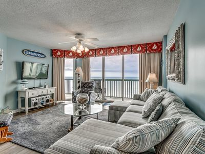 Photo for Oceanfront 18th Floor, Lazy River, Picnic Area, AshWorth