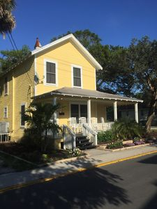 Photo for Beautiful pet-friendly Victorian home walking distance to the Historic District