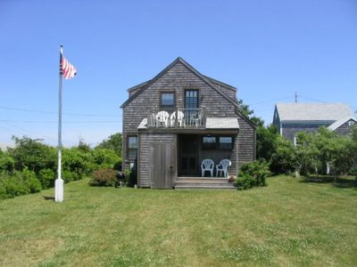 Photo for Water Views Cottage Walk to Madaket Beach, Sept 15 week available