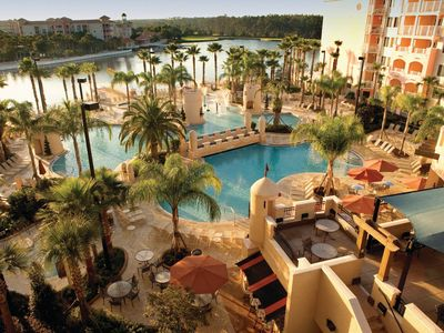 Photo for Marriott's Grande Vista 5* Resort, Orlando Prime location, Golf course on Site