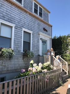 Photo for 3 bedroom 2 1/2 bath house 1 1/2 Blocks From Main Street, one block from harbor.